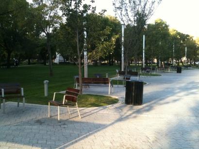 Park in Regina, Sept 2013