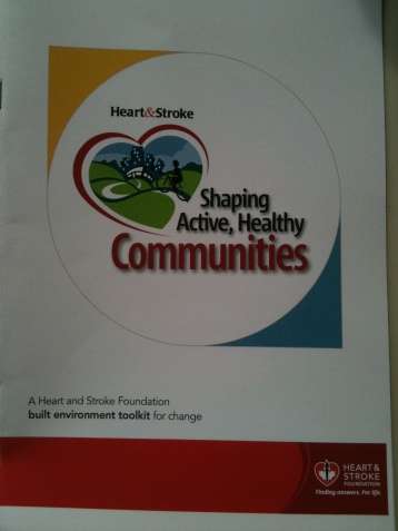 Shaping Active, Healthy Communities Toolkit