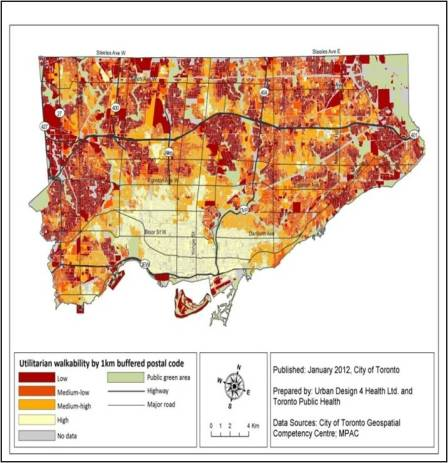 Walkability Map