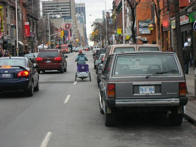 Bloor Street in Annex. Photo: Nancy Smith Lea