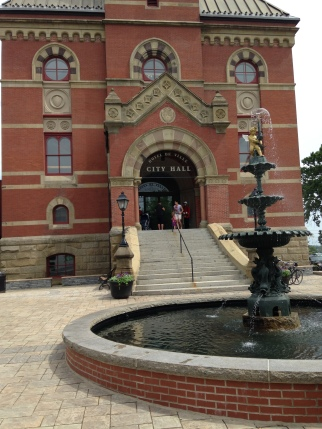 City Hall, Fredericton, NB-July 2014-KP